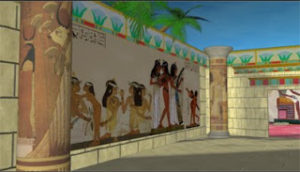 ancient egyptian 3d renders using maya