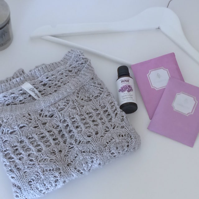 how to care for winter knits lavender essential oil