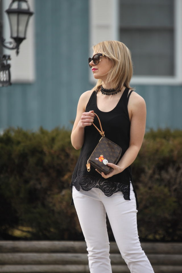 Gentle Fawn Lights tank with cropped white jeans