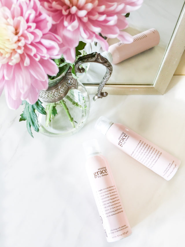 philosophy dry shampoo and body mousse