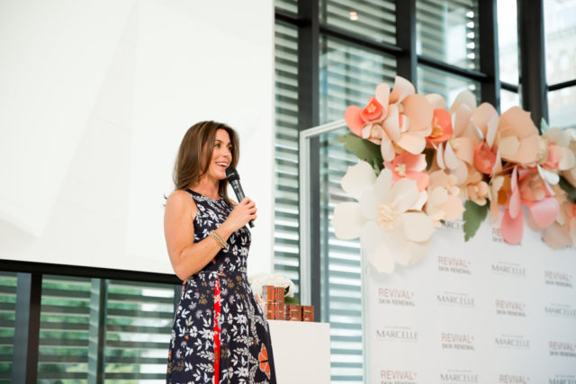 Marcelle Revival + Skin Renewal launch with Sarah Richardson